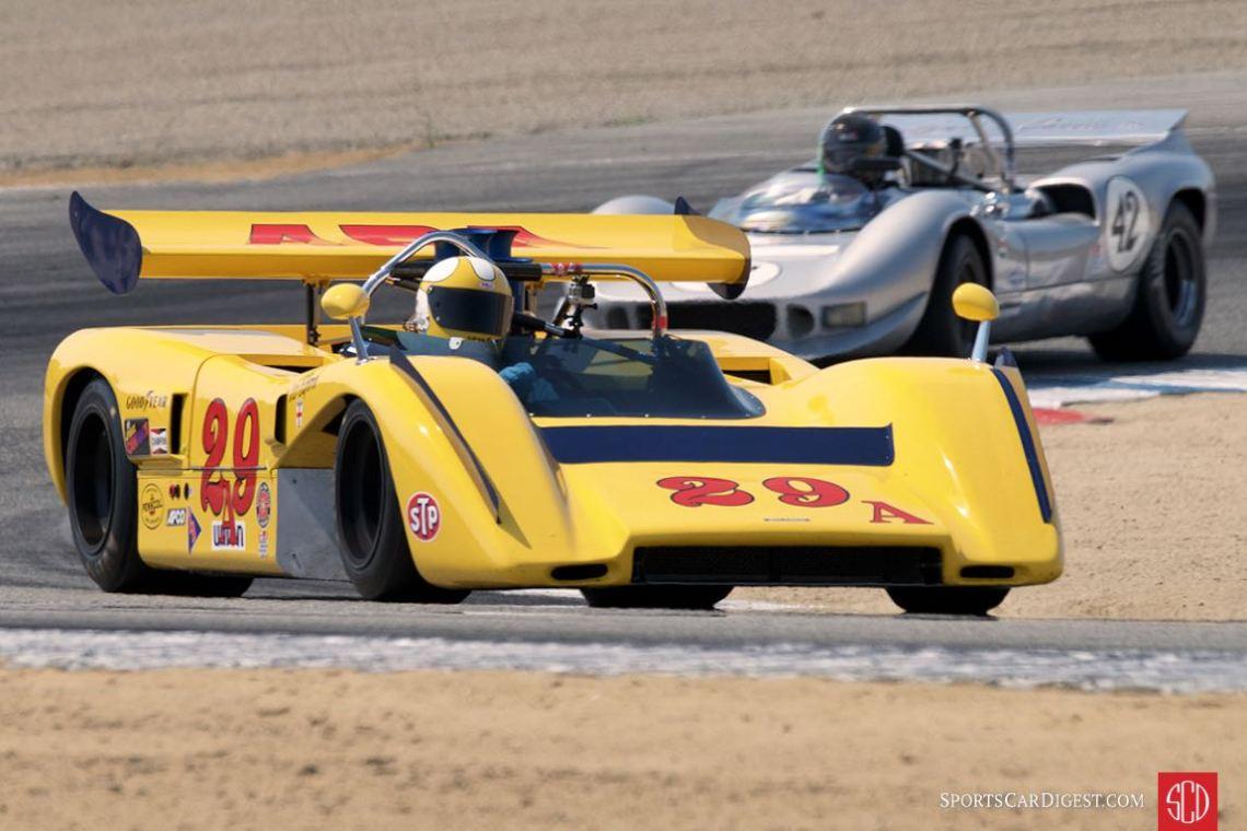 Duncan MacKellar - McLaren M8E