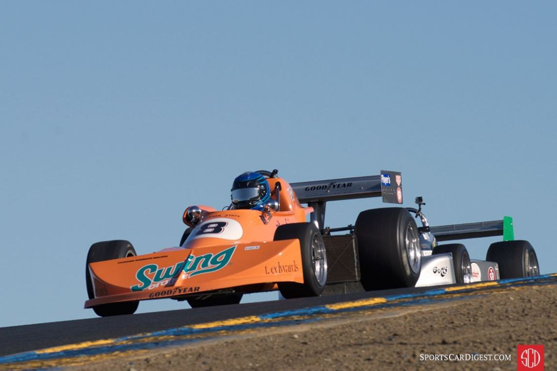 David Alvarado's 1976 March 76b in the setting sun
