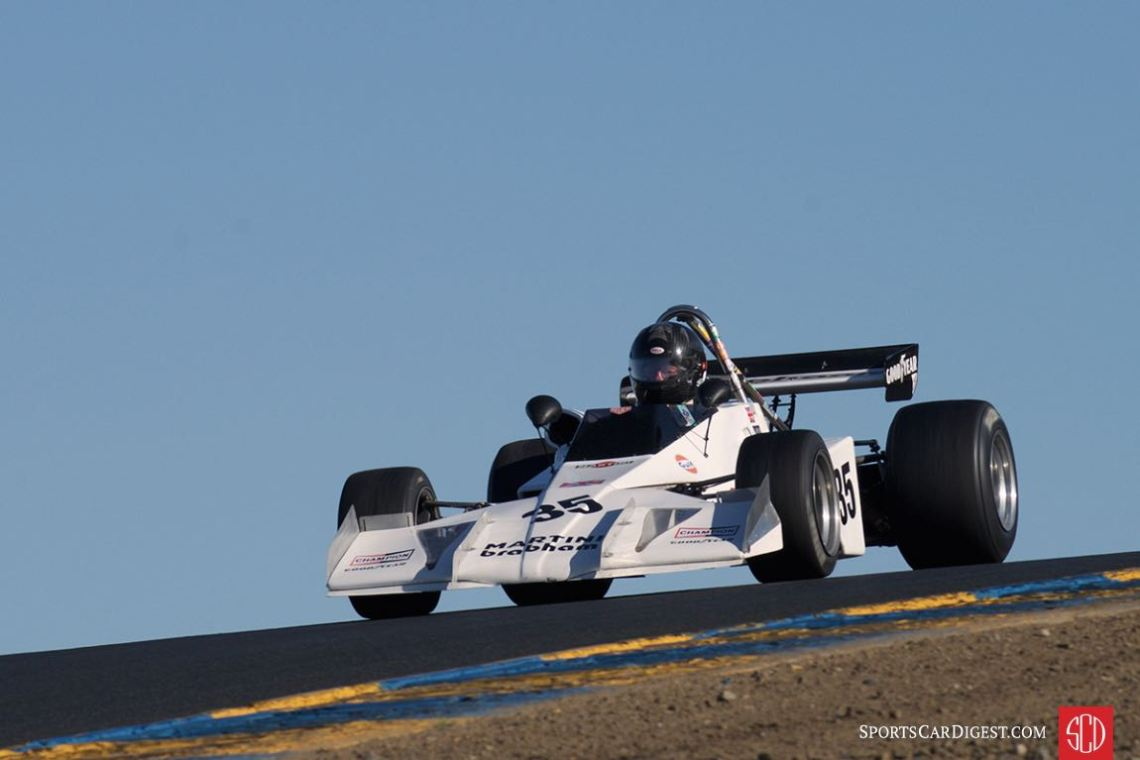 Sun sets on Jonathan Burke's 1973 Brabham BT40