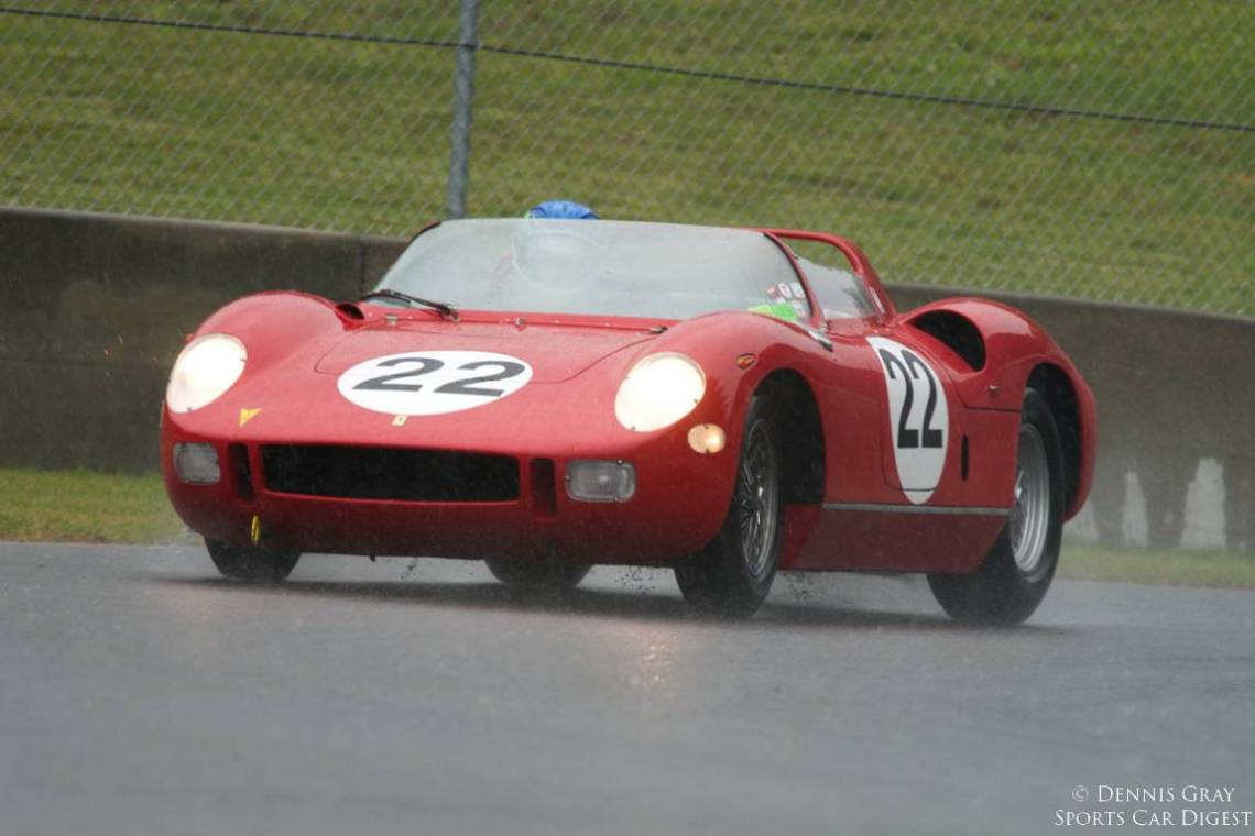 #2 of Four, Stephen Hill's 1963 Ferrari 250P Sunday morning.