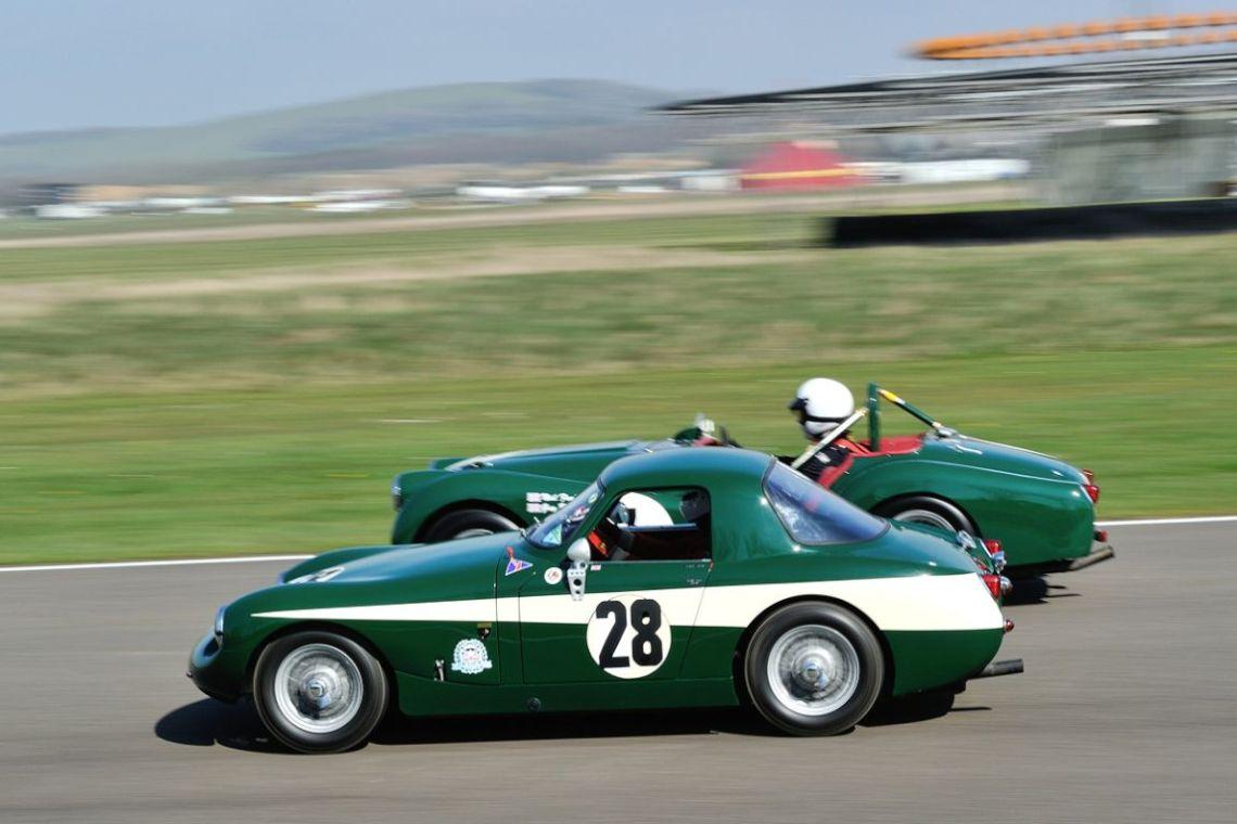 1958 Austin-Healey 'Alexander Sprite GT' and 1955 Triumph TR2