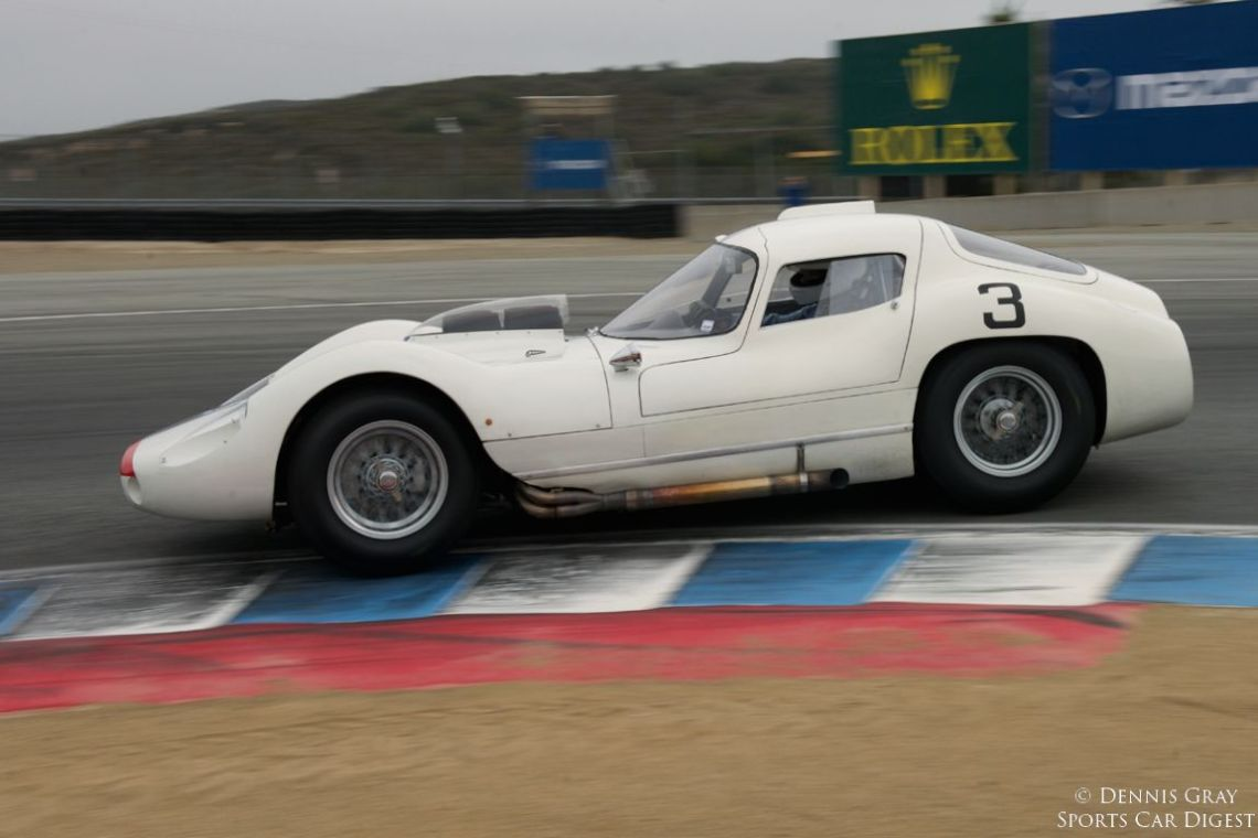 First at speed lap for Derek Hill in the Maserati 151.