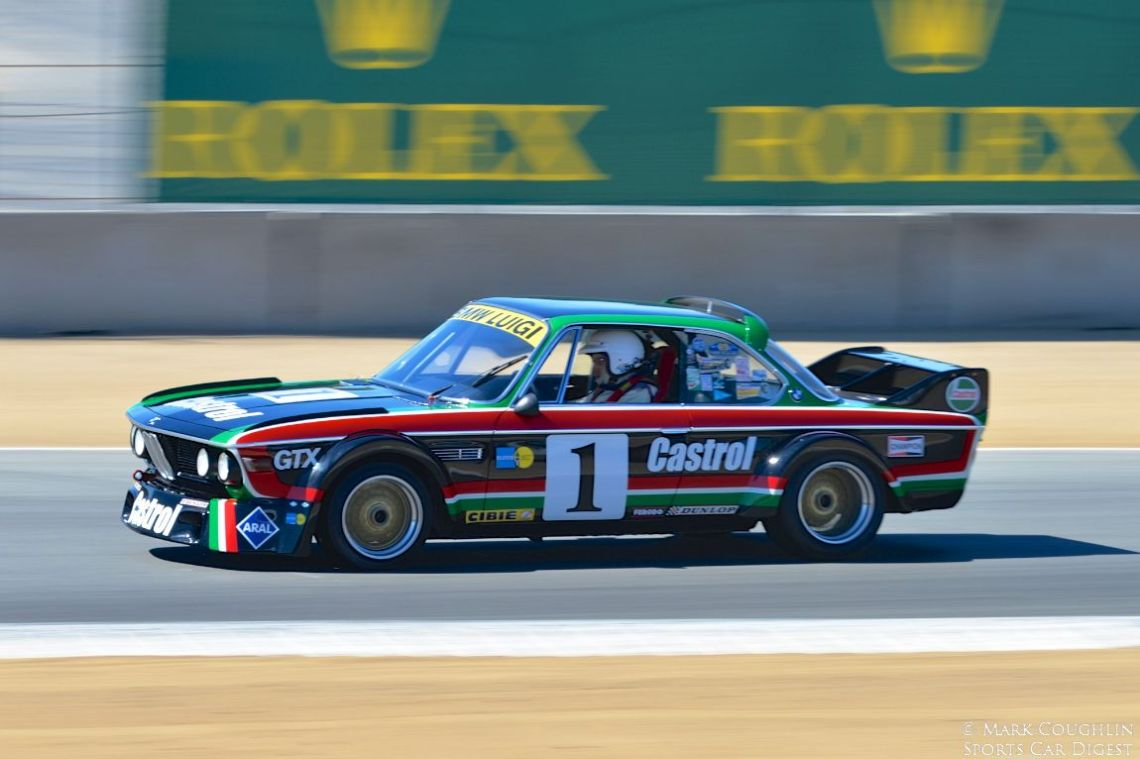 Steve Walker's 1973 BMW CSL won the Rolex Award for Excellence for Group 5A