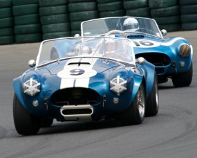 Sonoma Historic Festival Calendar, September - Pair of 289 Cobras