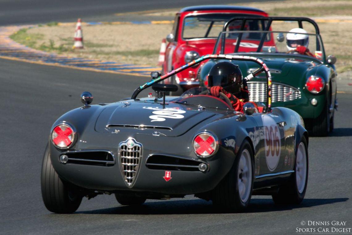 Peter Inshaw's 1963 Alfa Romeo Giulia Spyder.