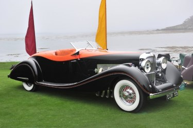 1935 Duesenberg Model J Gurney Nutting Speedster