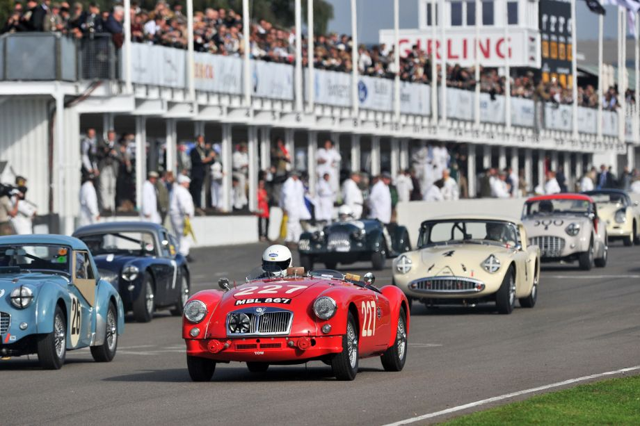 Triumph TR3 and MG A 'Mille Miglia' Roadster
