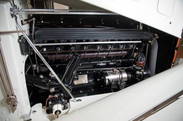 Delage D8S Roadster Engine