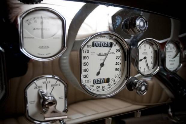 Delage D8S Roadster Gauges