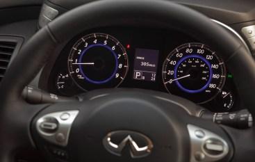 steering wheel dashboard instrument panel display