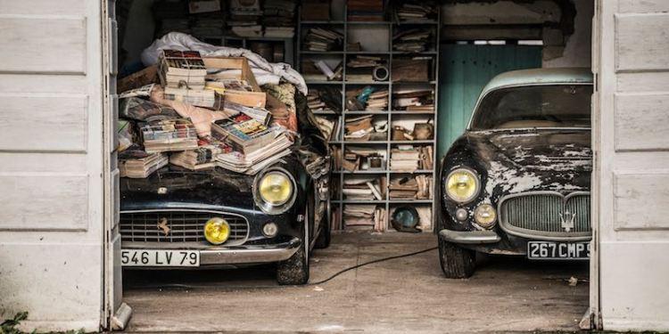 Ferrari 250 GT California SWB and Maserati A6G 2000 Berlinetta Grand Sport Frua