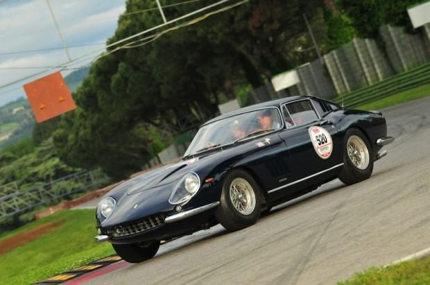 1967 Ferrari 275 GTB4 at Fiorano