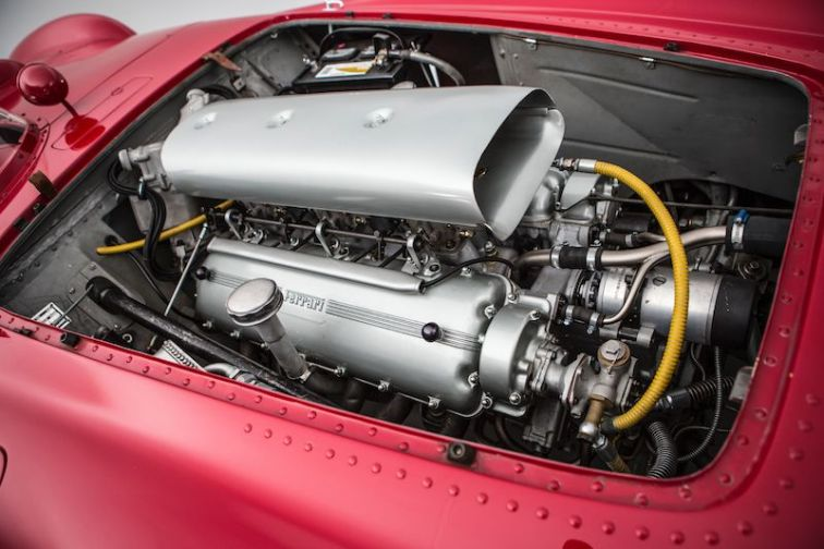 1954 Ferrari 375 Plus 0384 AM Engine