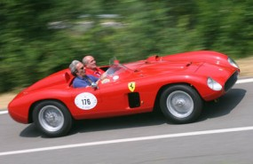 Ferrari 500 TRC at Vernasca Silver Flag