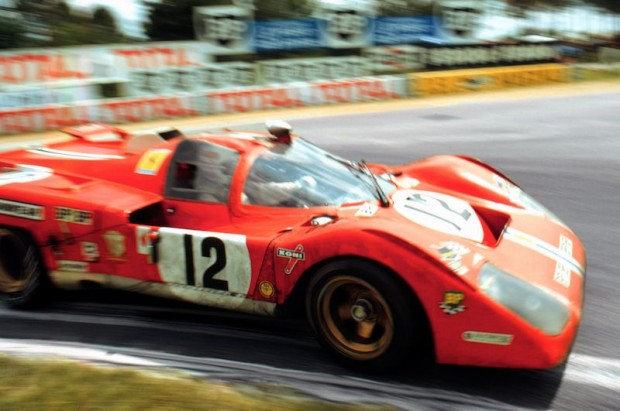 Ferrari 512 at 1971 24 Hours of Le Mans