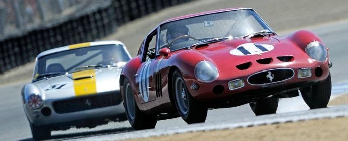 Ferrari 250 GTO race