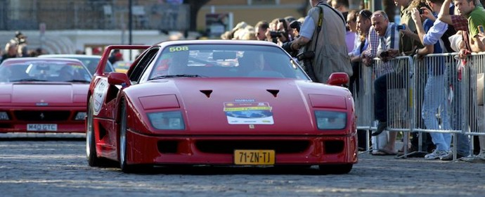 Ferrari F40 on Mille Miglia Tribute 2012