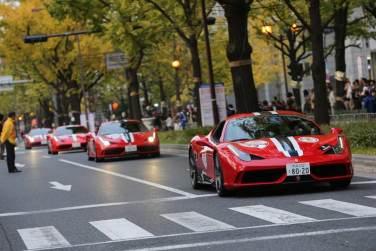 Ferrari Supercar display in Osaka, Japan