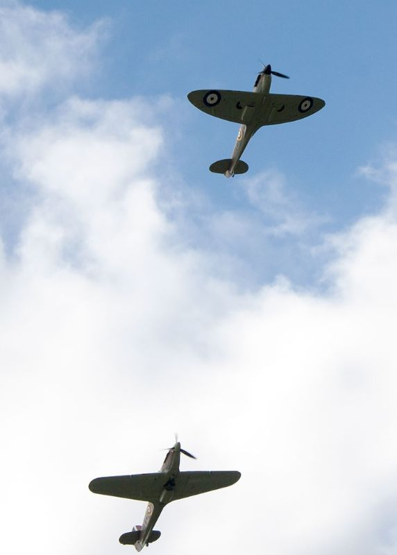 Battle of Britain Fly-by