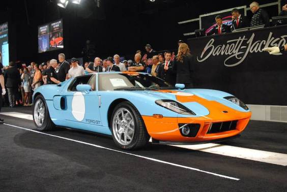 Ford GT Heritage Edition sold for $467,500
