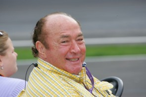 Andy Granatelli at IMS in 2005 (photo: Ron McQueeney)