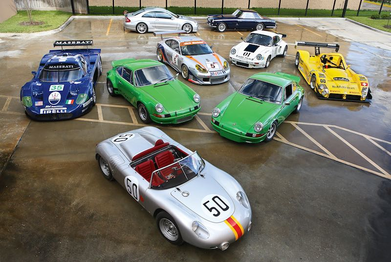 Racing porsches offered at gooding pebble beach 2015 for Pebble beach collection