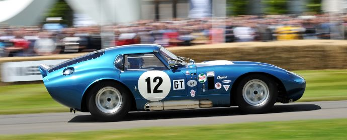 Shelby Daytona Cobra Coupe at Goodwood Festival of Speed 2012