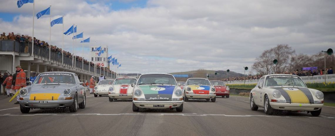 John Aldington Trophy Race for Pre-1966 2-litre Porsche 911s