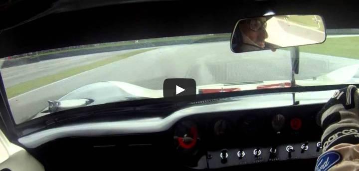 Goodwood Revival Ford GT40 Kenny Brack Video