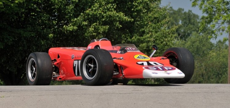 Lotus Type 56/3 Turbine Indy, ex-Graham Hill 1968 Indy 500