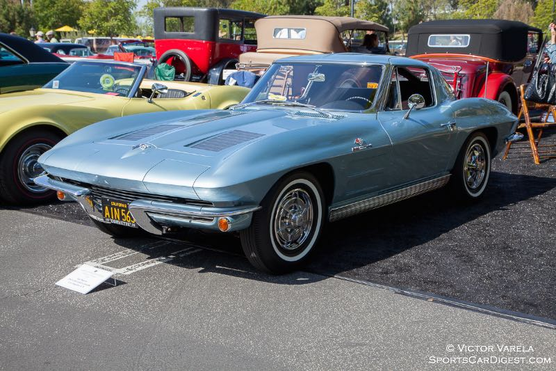 1963 Chevrolet Corvette - owned by Ian Wayne