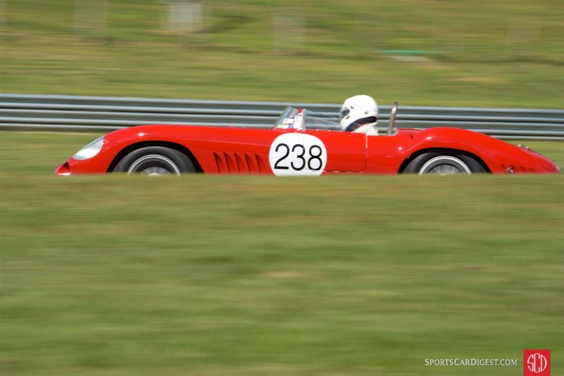 1957 Maserati 300S- Camilo Steuer.