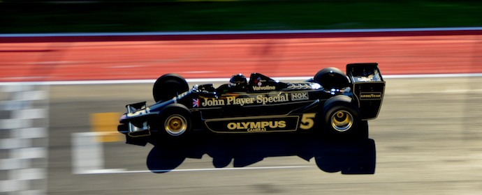 Ex-Mario Andretti Lotus 79 at Historic Grand Prix 2012