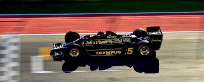 Ex-Mario Andretti Lotus 79 at Historic Grand Prix 2012