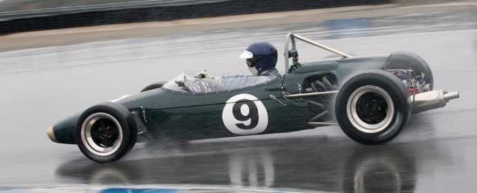 Brabham BT18 in rain
