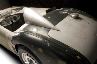 Healey Endurance Before Painting