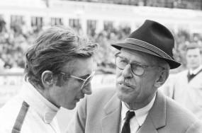 Jo Siffert and Huschke von Hanstein at Nürburgring 1000km, 1968