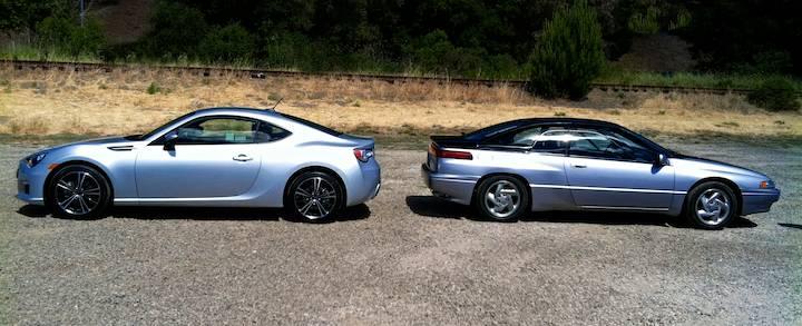 Subaru BRZ, Subaru SVX