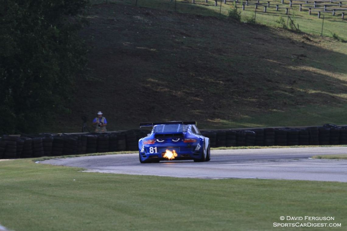 Juan Gonzalez entering turn 7 in his 07 Porsche 997.