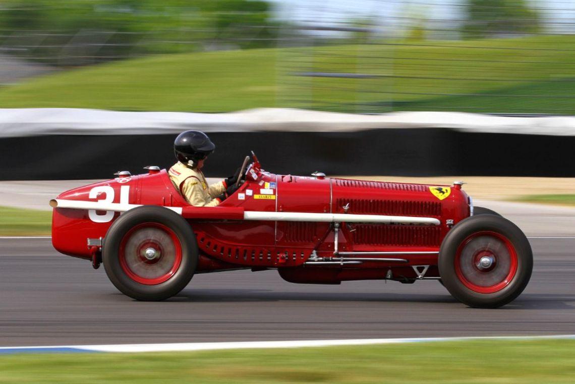 Peter Giddings, 31 Alfa Romeo Tipo B P3