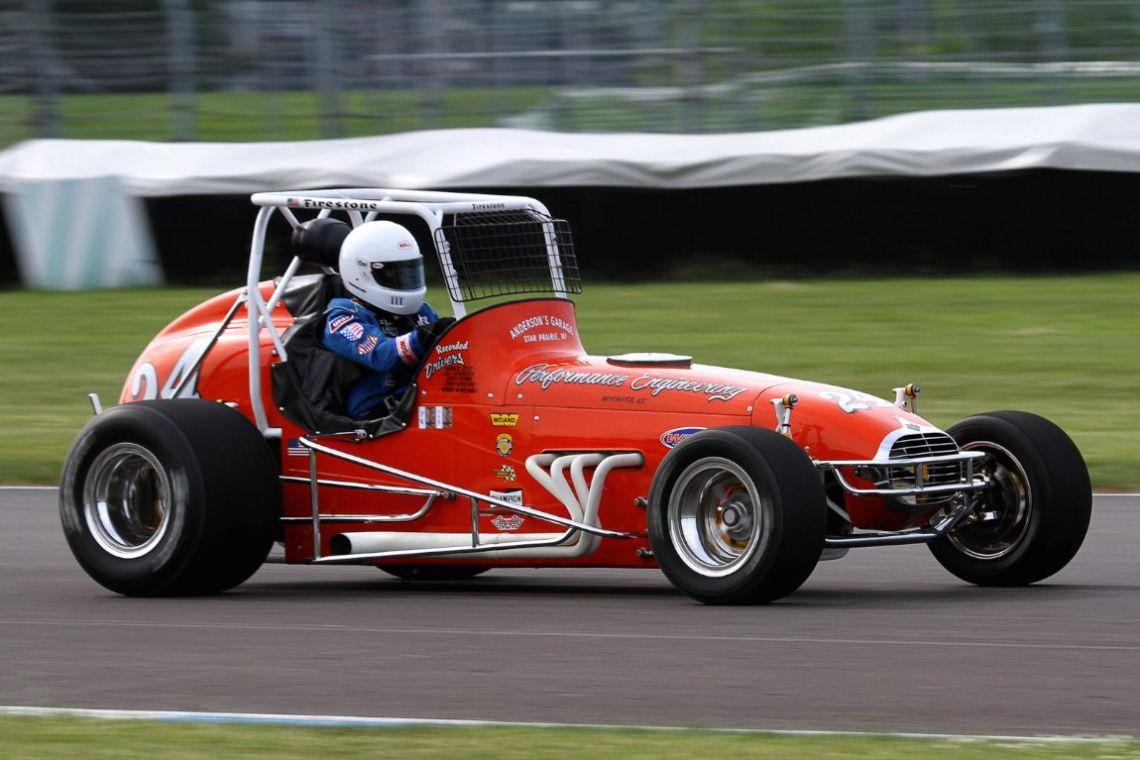 Mick Anderson, 75 Wilhelm Dirt Champ Car