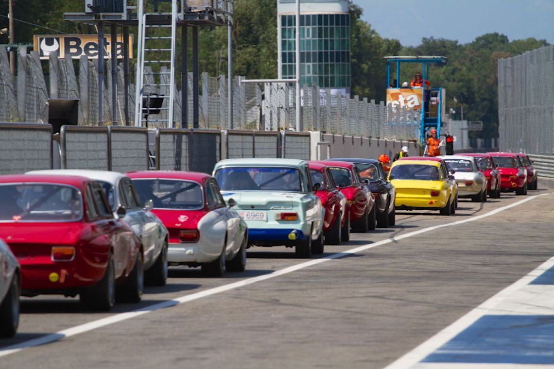 Alfa Revival Cup at Monza Historic 2015