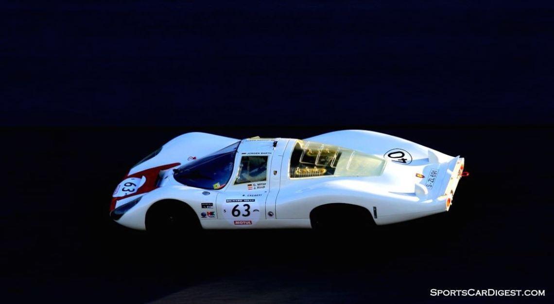 The essence of a 1967 Porsche 907 LH