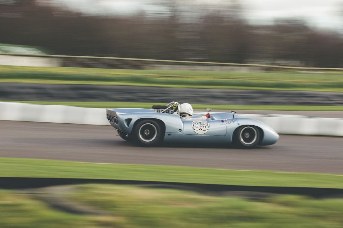 Lola T70 Spyder (photo: Tom Shaxson | Goodwood Road and Racing)