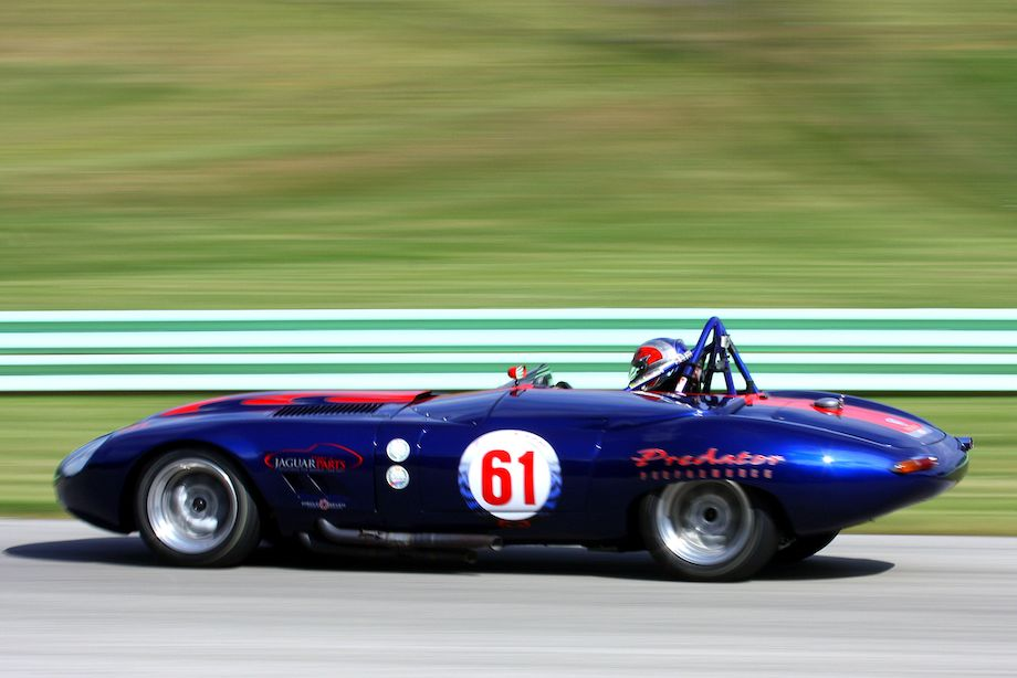 Larry Ligas, 1961 Jaguar XKE