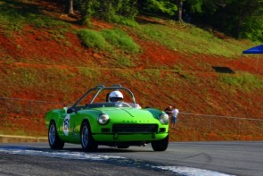 Triumph Spitfire at 2011 Mitty