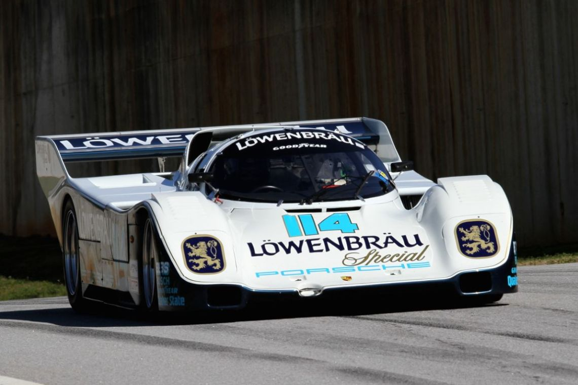 Dan Curry, 85 Porche 962