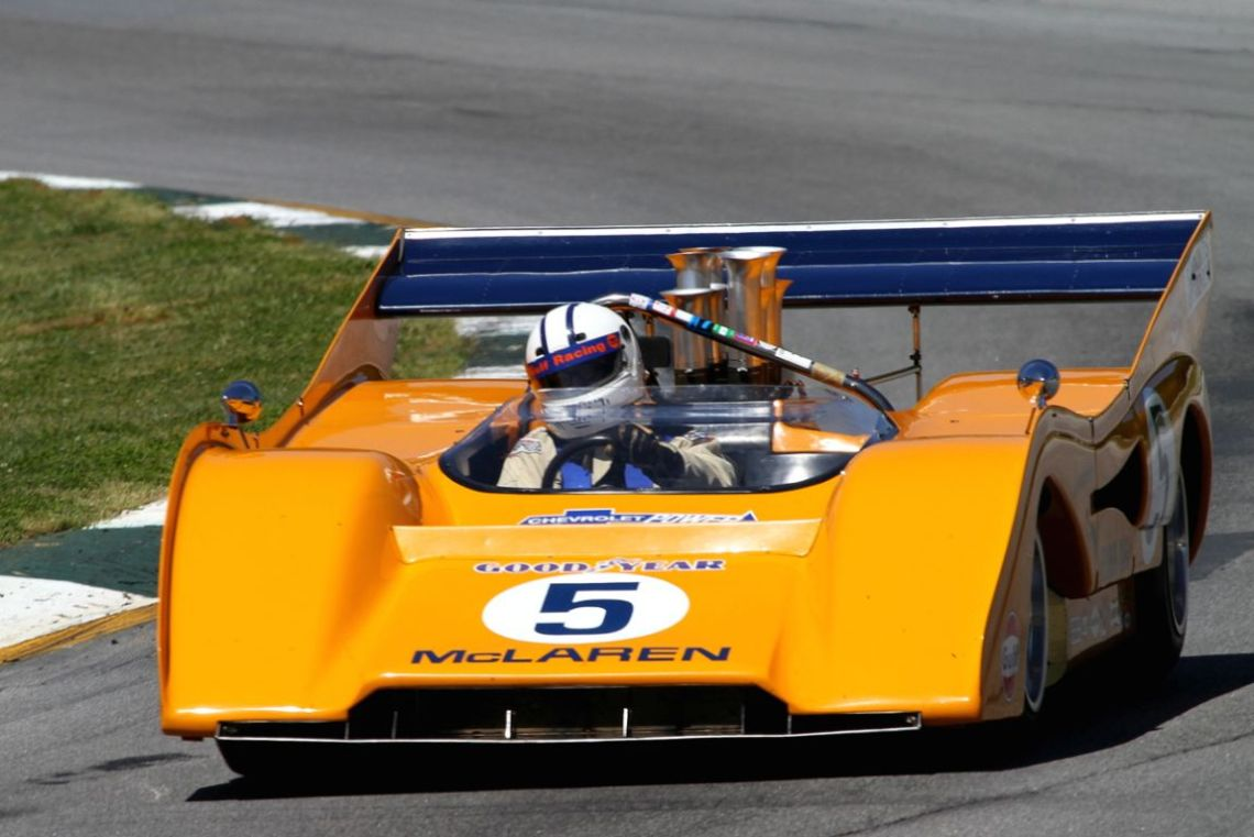 Chris MacAllister, 71 McLaren M8F