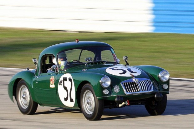 1959 MG A Sebring at the famed Florida race track