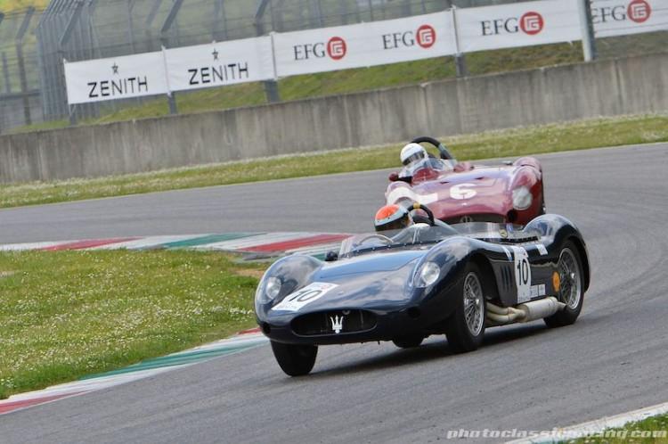 1956 Maserati 250S and 1955 Maserati 300S